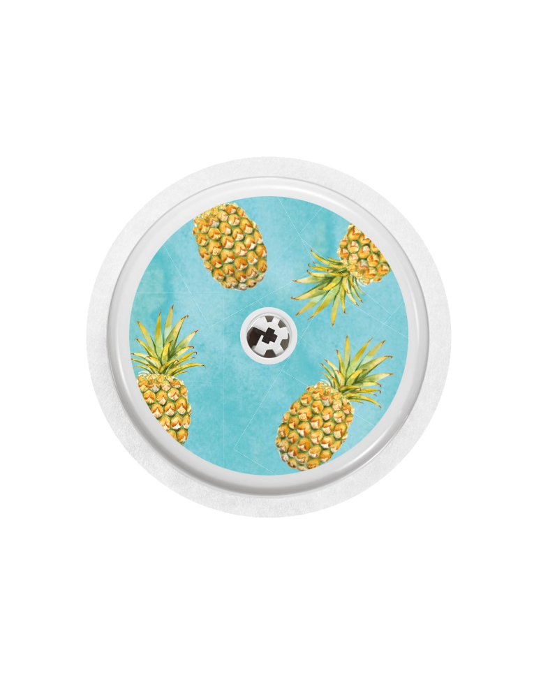 cover freestyle libre sensor pineapples prikkedief